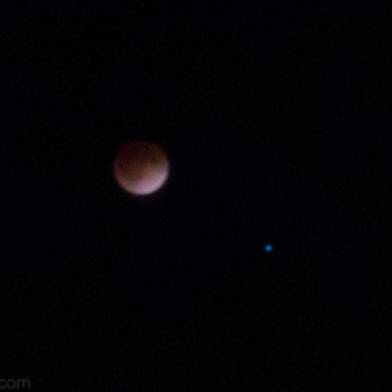 It's Not the End of The World: Lunar Eclipse I Raw Pics