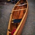 Finished Cedar Strip Canoe